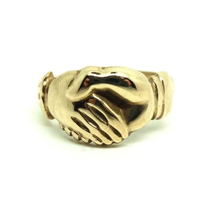 antique-victorian-9ct-rose-gold-clasped-hands-ring