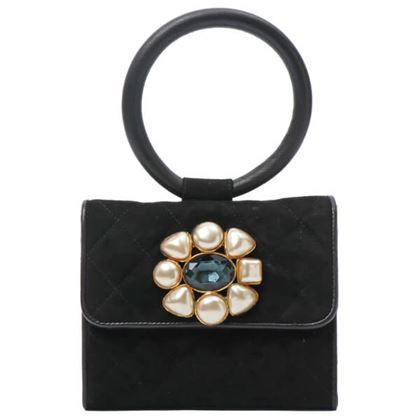 chanel-suede-pearl-bijou-mini-handbag-black