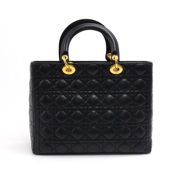 christian-dior-lady-dior-large-black-quilted-cannage-leather-handbag