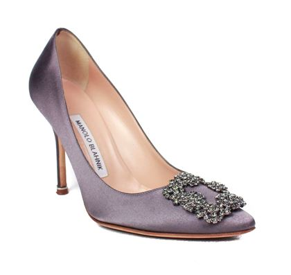 manolo-blahnik-high-heels-hangisi-gray-satin-crystal-rhinestone-365-us-65-pre-owned-used