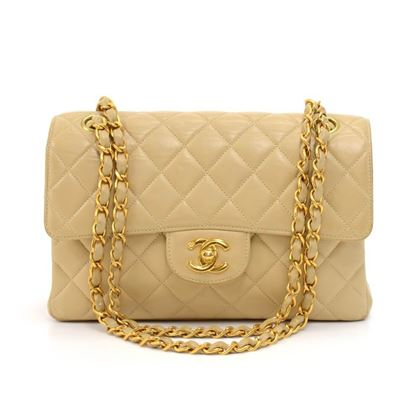 vintage-chanel-beige-quilted-leather-double-sided-flap-shoulder-bag