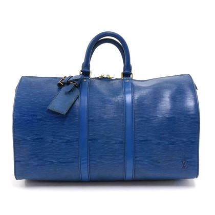 vintage-louis-vuitton-keepall-45-blue-epi-leather-duffle-travel-bag-7