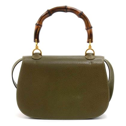 dc14d49974cc gucci-bamboo-top-handle-olive-green-pebbled-leather- ...
