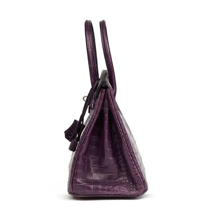 amethyst-matte-porosus-crocodile-leather-birkin-30cm