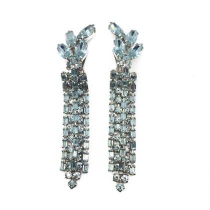 weiss-vintage-statement-earrings-faux-alexandrite-crystal-1950s