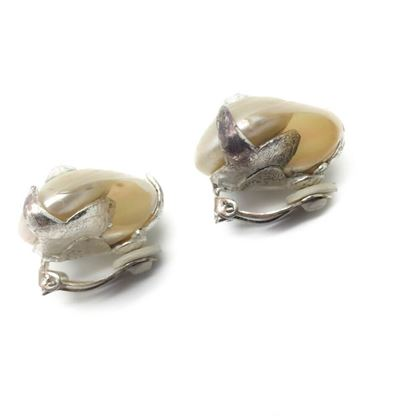 yves-saint-laurent-ysl-rive-gauche-vintage-sea-shell-earrings-by-goossens-1990s
