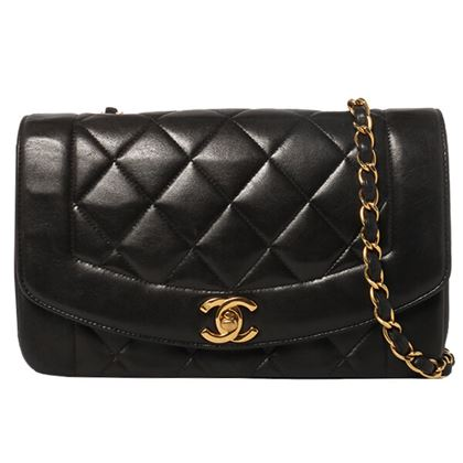 chanel-diana-flap-chain-bag-23cm-black-7