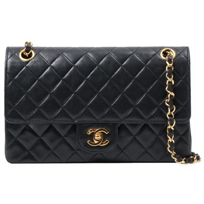 chanel-straight-flap-turn-lock-chain-bag-black-3