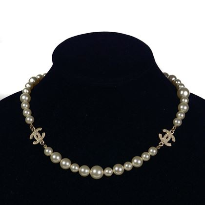 chanel-rhinestone-graduated-pearl-necklace-gold-cc-crystal-choker-11c-pre-owned-used