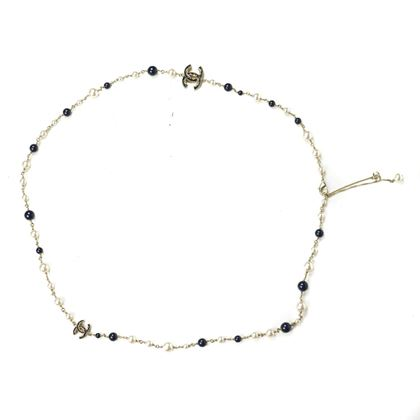 chanel-pearl-necklace-cc-white-black-gold-36-long-2015-15v-pre-owned-used