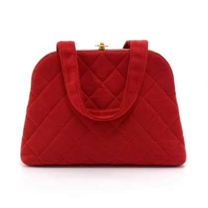 vintage-chanel-red-quilted-cotton-x-leather-purse-handbag