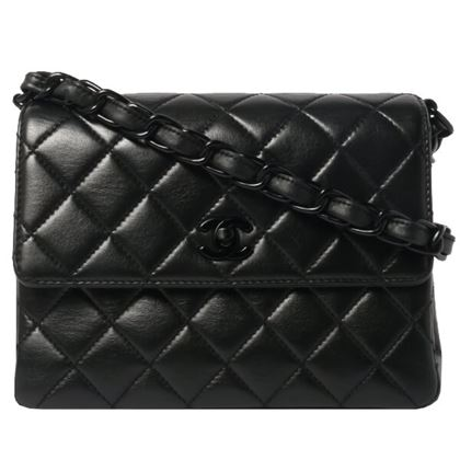 chanel-straight-flap-turn-lock-chain-bag-black-4