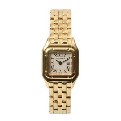 cartier-18k-yellow-gold-mini-pantail-watch