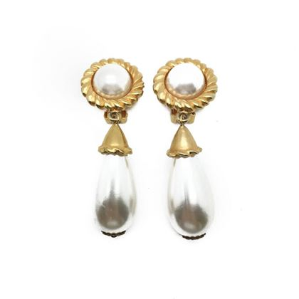 escada-vintage-gold-pearl-drop-statement-earrings-1980s