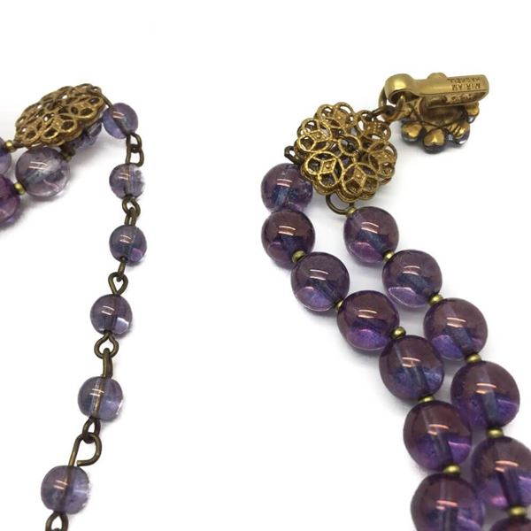 miriam-haskell-vintage-leaf-collar-necklace-amethyst-glass-1950s