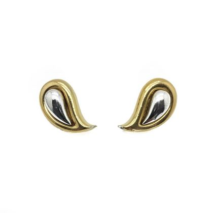 givenchy-vintage-paisley-style-duo-metal-earrings-1978