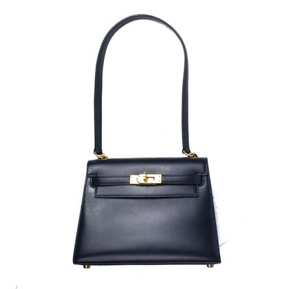 hermes-mini-kelly-bag-20-cm-navy-blue-gold-hardware-short-handle-strap-pre-owned-used