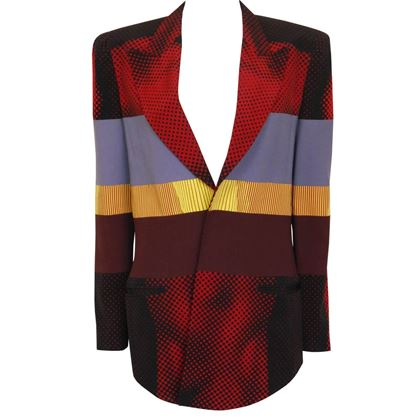 JEAN PAUL GAULTIER S/S 1996 Cyberbaba Body Illusion Jacket Size L