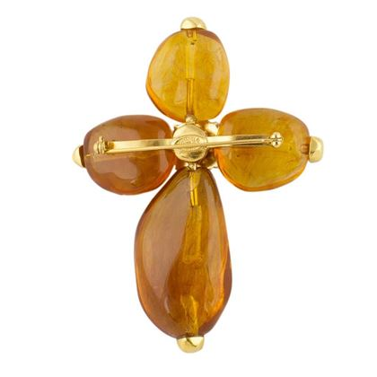 chanel-amber-molded-glass-brooch