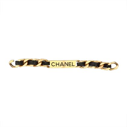 chanel-leather-metal-bracelet