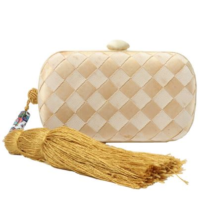 bottega-veneta-intrecciato-fringe-mini-clutch-bag-cream-yellow