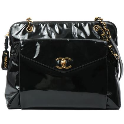 chanel-patent-cc-turn-lock-logo-charm-tote-bag-black