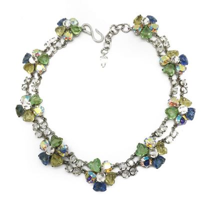 christian-dior-vintage-hearts-blossoms-pastel-necklace-1957