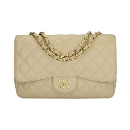chanel-single-flap-jumbo-beige-clair-caviar-gold-hardware-2009
