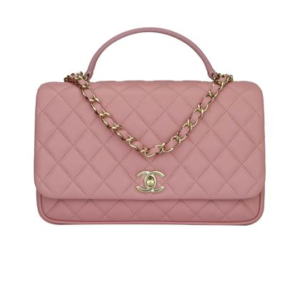chanel-citizen-chic-medium-flap-pink-lambskin-gold-hardware-2018