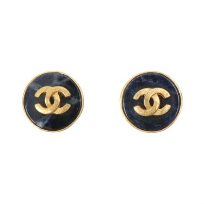 chanel-round-stone-cc-mark-earrings-cobalt-blue