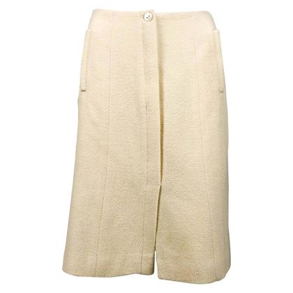 chanel-cream-wool-a-line-skirt-2003