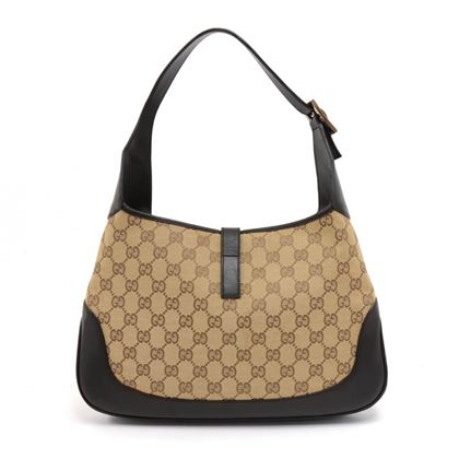 gucci-jackie-original-gg-canvas-brown-leather-shoulder-bag