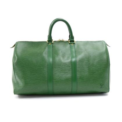 vintage-louis-vuitton-keepall-45-green-epi-leather-duffle-travel-bag-6