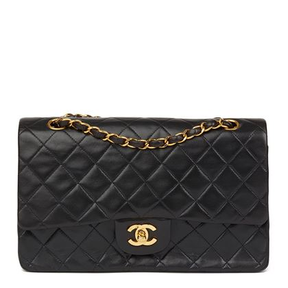 black-quilted-lambskin-vintage-medium-classic-double-flap-bag-33