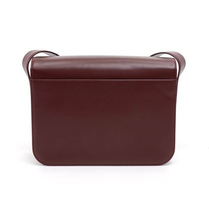cartier-must-de-carter-line-burgundy-leather-flap-messenger-bag