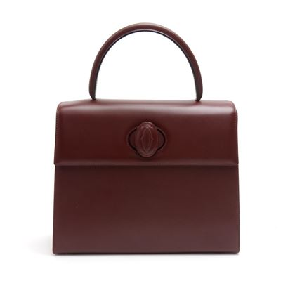 cartier-must-de-cartier-line-burgundy-cowhide-leather-top-handbag