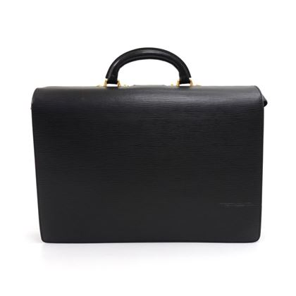 vintage-louis-vuitton-serviette-fermoir-black-epi-leather-briefcase