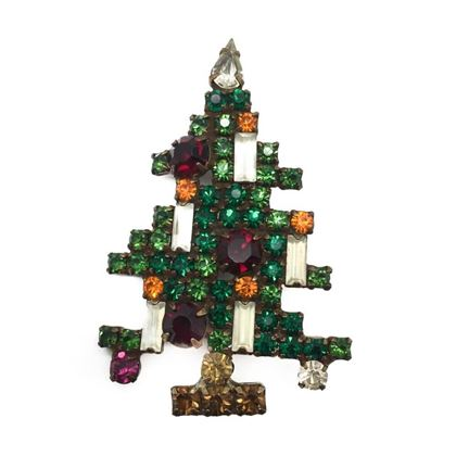 weiss-large-christmas-tree-brooch-with-five-candles-rare-1950s