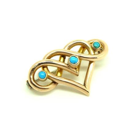 antique-victorian-turquoise-heart-9ct-gold-brooch