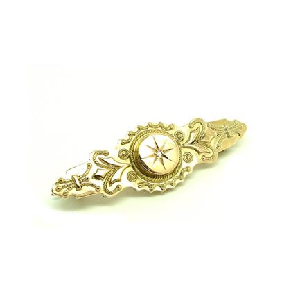 antique-victorian-diamond-gold-brooch