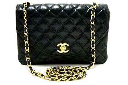 chanel-half-moon-chain-shoulder-crossbody-bag-black-flap-quilted