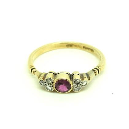antique-victorian-ruby-diamond-18ct-gold-ring