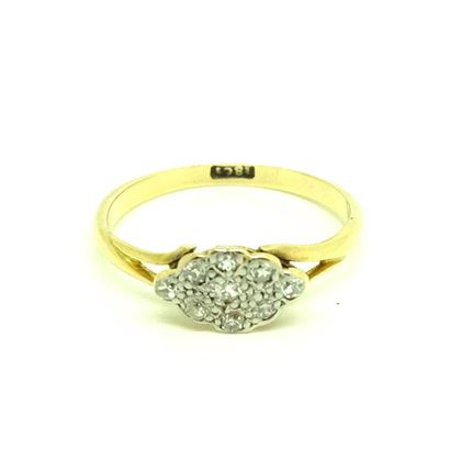 antique-victorian-diamond-cluster-18ct-gold-ring