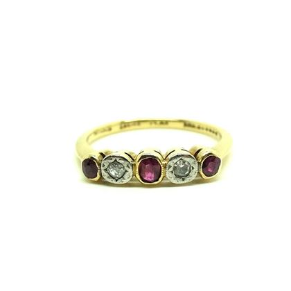 vintage-1930s-ruby-diamond-18ct-gold-platinum-ring