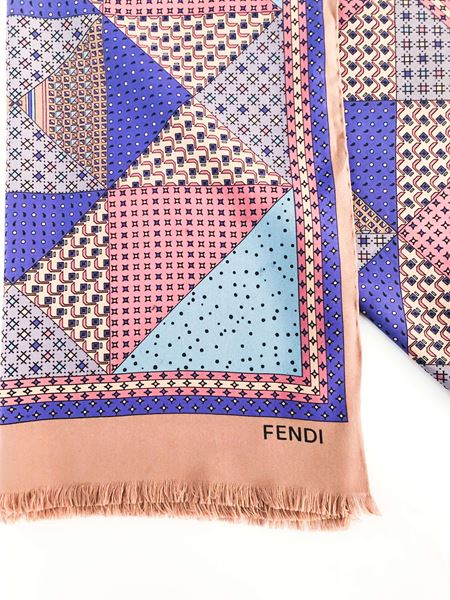 fendi-silk-scarf-with-geometric-pattern