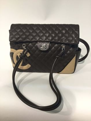 chanel-shoulder-bag-in-brownleather