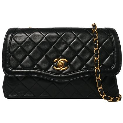 chanel-edge-design-flap-turn-lock-chain-bag-black-6