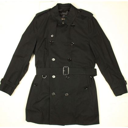 burberry-black-trench-coat-double-breasted-interior-blue-plaid-50-medium-pre-owned-used