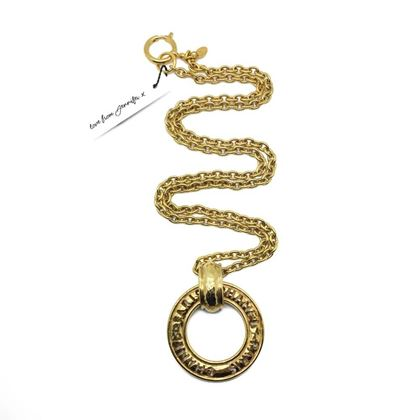 chanel-vintage-circle-logo-chain-necklace-1980s