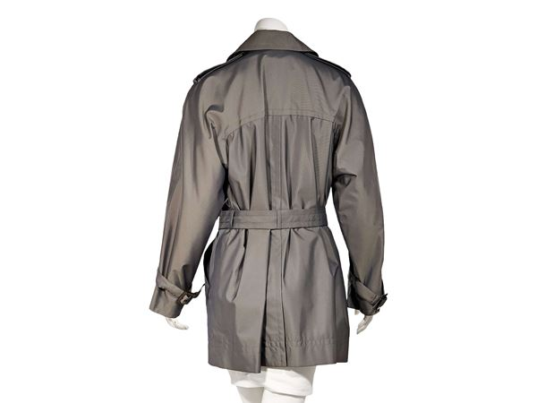 grey-vintage-yves-saint-laurent-rive-gauche-trench-coat